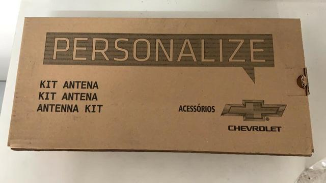 Kit Antena Radio Original Base Prisma e Onix 2013 a 2016