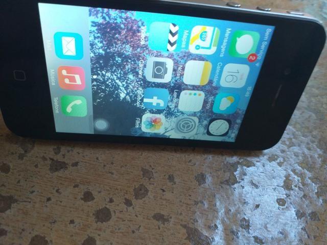Vendo ou troco iPhone 4s - Foto 5
