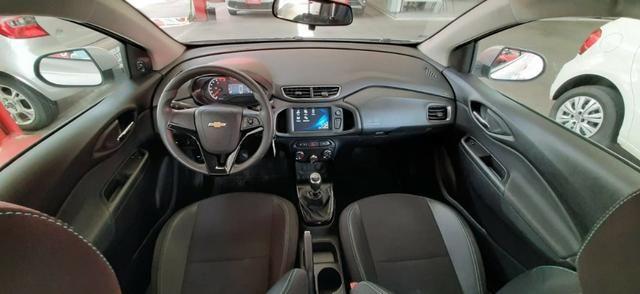 Prisma Lt 1.4 2019 Prata 30mil kms - Financia sem entrada - aceita carro na troca - Foto 6