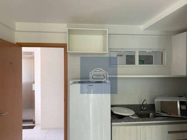 Apartamento com 1 dormitório para alugar, 31 m² por R$ 2.100,00/mês - Graças - Recife/PE - Foto 5
