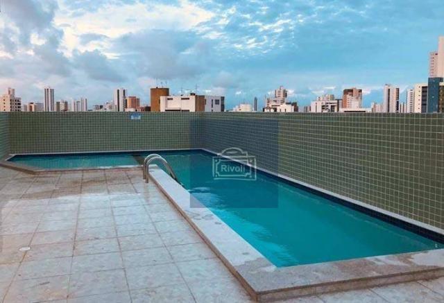 Apartamento com 1 dormitório para alugar, 31 m² por R$ 2.100,00/mês - Graças - Recife/PE - Foto 11