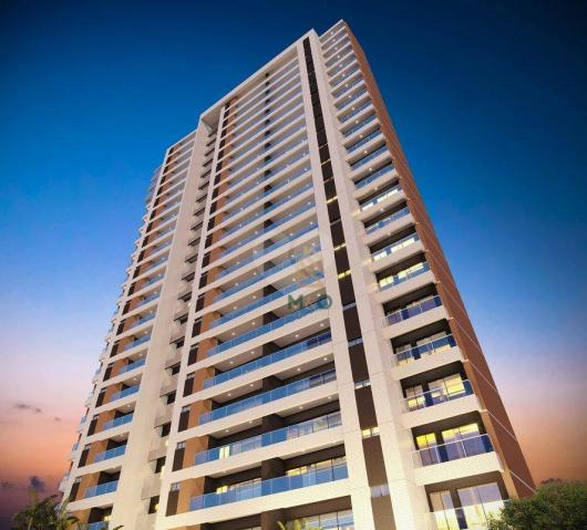 Apartamento com 3 dormitórios à venda, 112 m² por R$ 875.000 - Aldeota - Fortaleza/CE