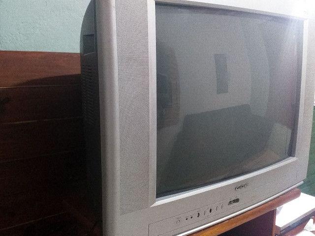 01 TV 29' polegadas CCE + 01 Controle com pilhas. - Foto 3