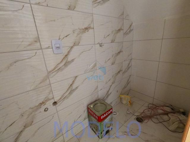 Sobrado à venda com 2 quartos, 72,99 m², terraço, próximo ao Santuário da Divina Misericór - Foto 14