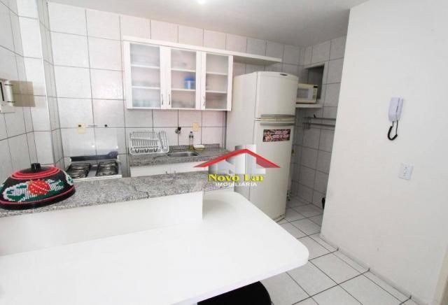 Apartamento com 1 dormitório à venda, 37 m² por R$ 160.000,00 - Praia de Iracema - Fortale - Foto 3