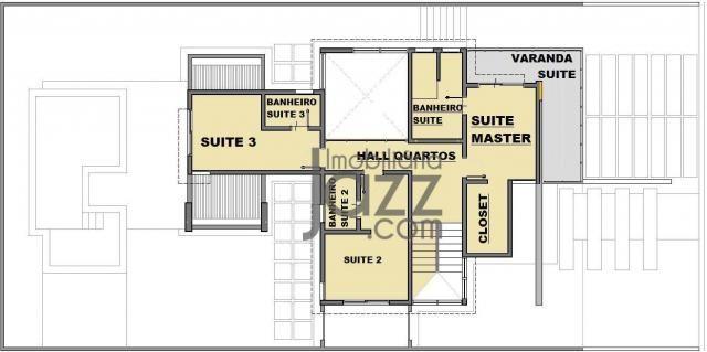 Casa com 3 dormitórios à venda, 266 m² por R$ 1.550.001,00 - Terras de São Carlos - Jundia - Foto 5