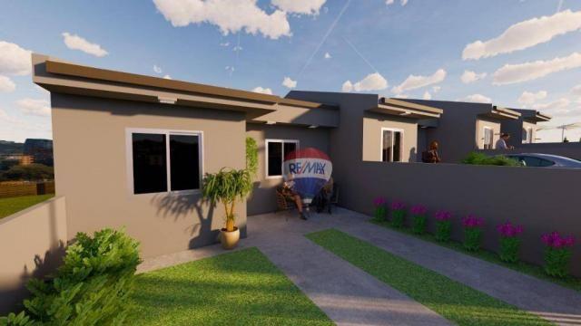 Casa com 2 dormitórios à venda, 50 m² por R$ 128.000,00 - Aparecida - Alvorada/RS - Foto 2