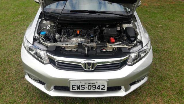 Honda Civic EXS Automatico Top de Linha + Teto Solar 2012 - Foto 7