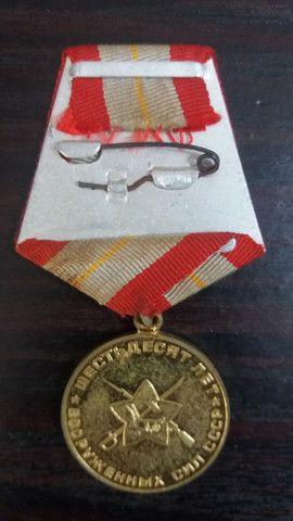 Medalha União Soviética 60 anos da Primeira Guerra - Foto 2