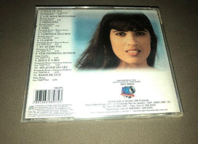 CD Fernanda Brum - Feliz de Vez - Raridade - Foto 2