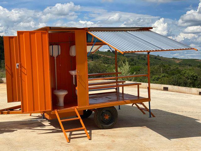 - Área de Vivência - Refeitório 12 Pessoas c/ 02 Banheiros - Foto 2