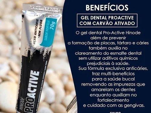 Clareador Dental Carvão Ativado Pasta De Dente Gel Dental<br><br> - Foto 2