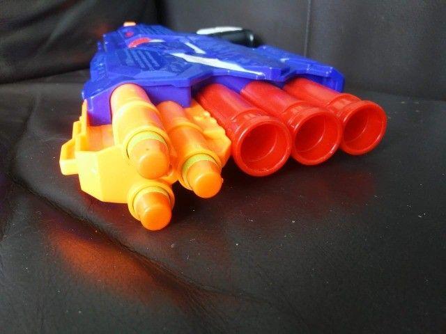 Nerf Dual-Strike - Arma de brinquedo - Foto 3