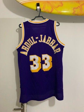Camisa Lakers- Retrô  - Foto 2