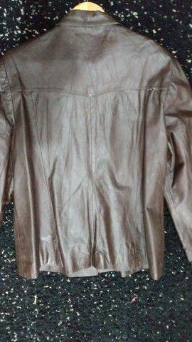 Jaqueta de ouro marrom Tam GG - Foto 5