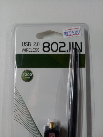 Adaptador Wi-Fi Wireless  - Foto 3