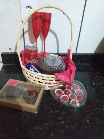 Cestas de chocolates para o dia dos namorados  - Foto 2