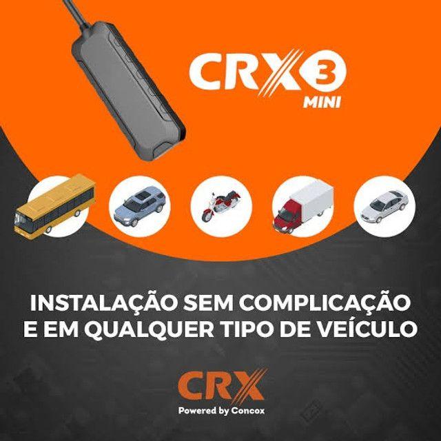 Rastreador Veicular CRX3 Mini Homologado Anatel Instalado com Site e APP - Foto 3