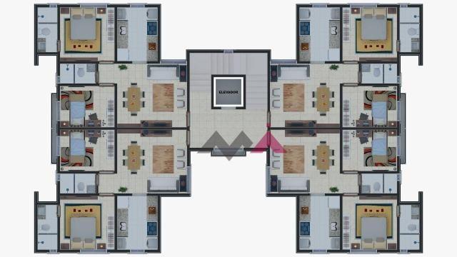 Apartamento com 2 dormitórios à venda, 49 m² por R$ 174.000,00 - Plano Diretor Sul - Palma - Foto 20