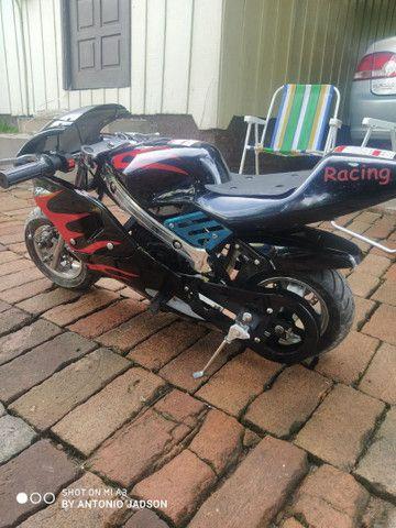 Mini moto a motor