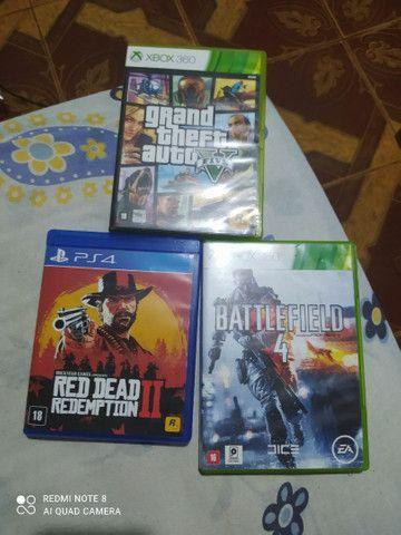 Jogos Xbox 360 e PS4 mídia física e digital  - Foto 2