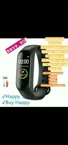 Smartwatch relógio inteligente