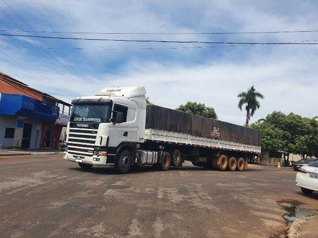 Scania 420 R124 2006 e Carreta Guerra 2001 - Foto 4