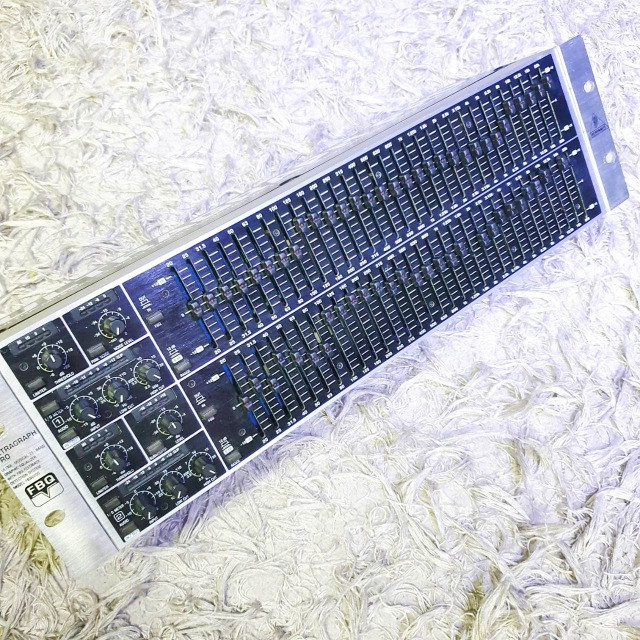 Equalizador behringer Fbq 6200 - Usado - Somos Loja