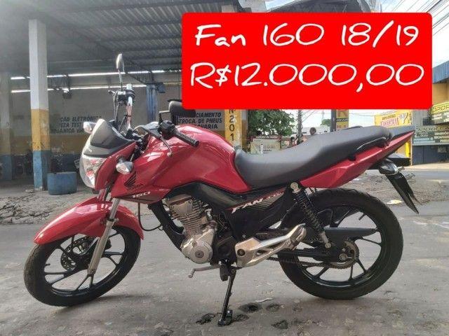 Moto Honda cg160 Titan, semi nova.