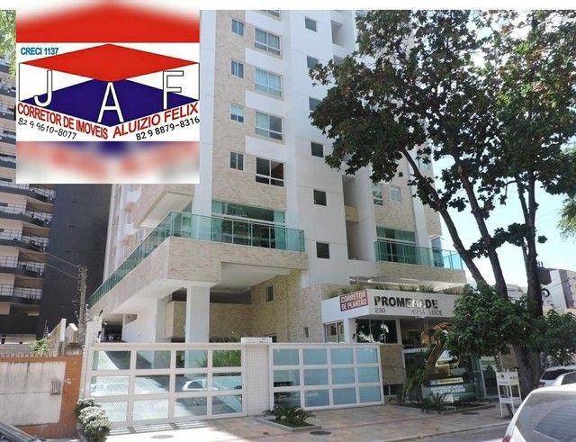 Apartamento para venda com 50 metros quadrados com 2 quartos em Jatiúca - Maceió - AL