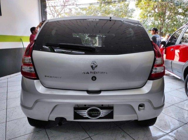 Renault Sandero Expression 1.0 Flex Completo Financia e Troca Excelente Estado - Foto 5