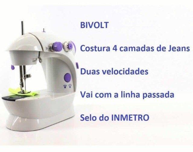 Mini Máquina De Costura Doméstica Portátil - Foto 2