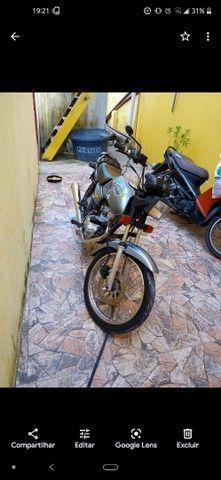 Moto CG 125 em dias com todos os Documentos - Foto 2