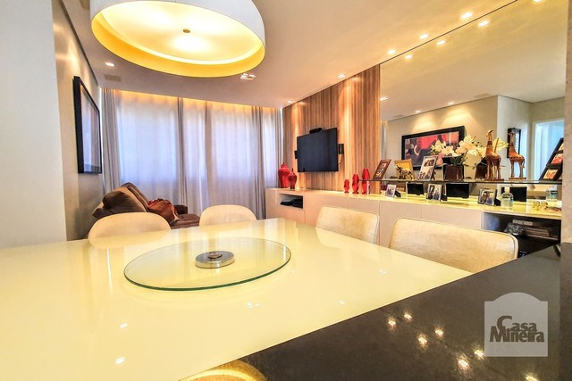 Apartamento à venda com 3 dormitórios em Luxemburgo, Belo horizonte cod:348438