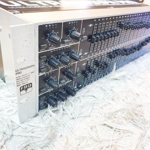 Equalizador behringer Fbq 6200 - Usado - Somos Loja - Foto 3