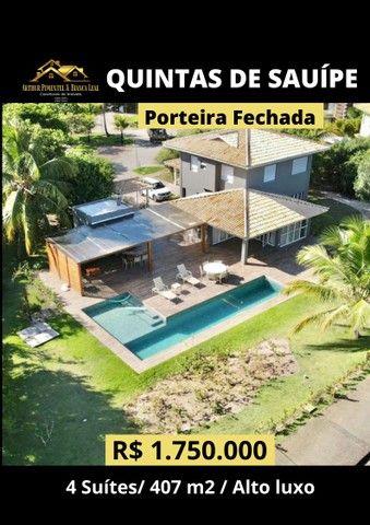 Casa de condomínio sobrado para venda com 407 metros quadrados com 4 quartos