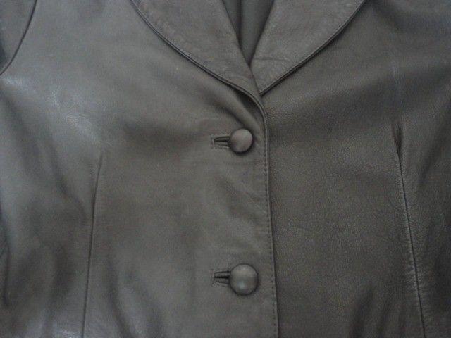 Casaco em couro feminino - conservadíssimo - Foto 3