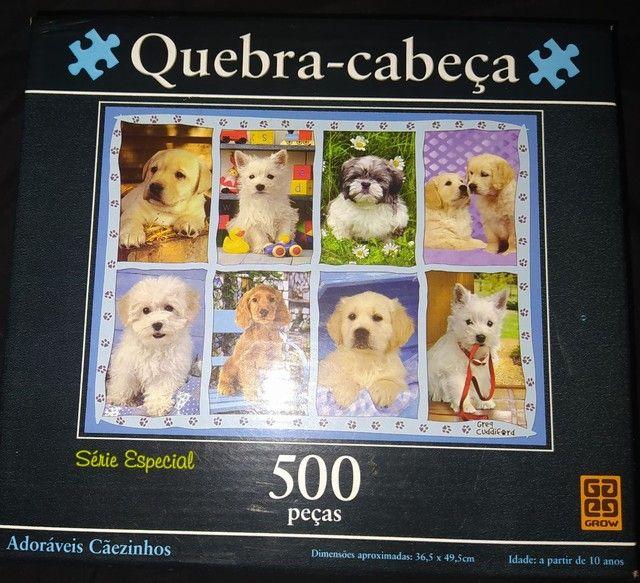 Vendo Quebra Cabeça 500 Peças Grow Original