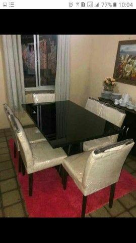 Conjunto LUXUOSOS de mesa e cadeiras diretamente da fábrica ótima QUALIDADE! * - Foto 2