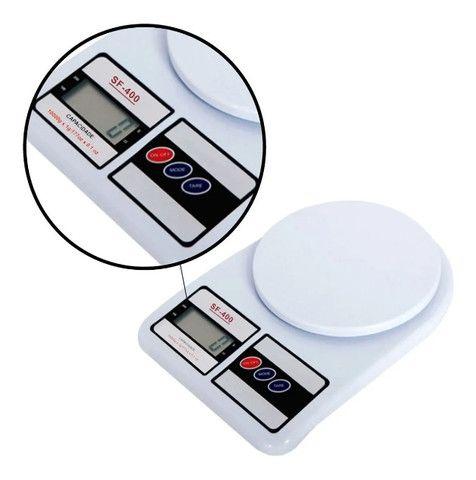 Balança de Cozinha Digital Megatom 7 Kg SF400 com Tara MGT - Foto 2