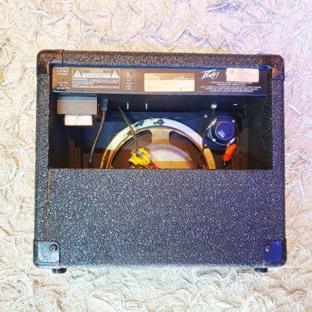 Amplificador para Guitarra Peavey Balser 158 USA - Usado - Somos Loja - Foto 2