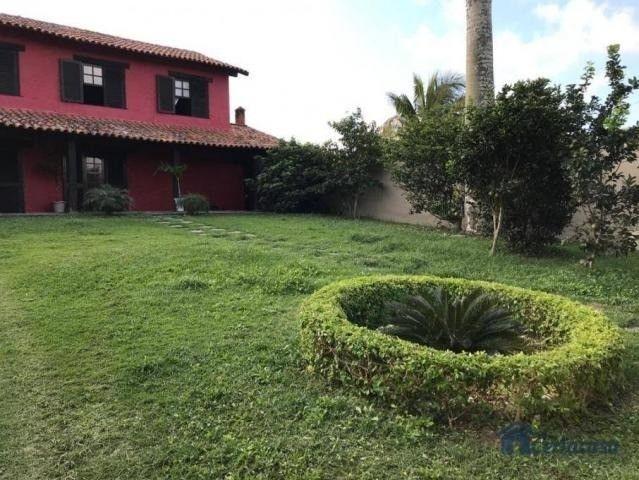 Duplex com 04 quartos  sendo 01 edícula, árvores frutíferas, vista para a lagoa. - Foto 15