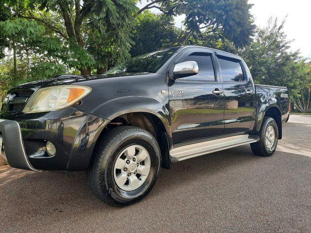 Hilux 2007 4x4 diesel  - Foto 3