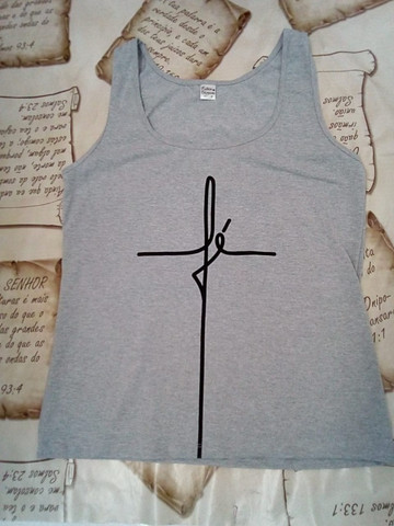 camisa espalhe amor regata fé camiseta espalhe amor  - Foto 2
