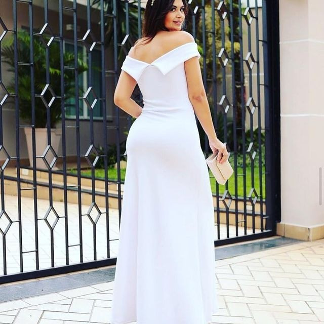 Vestido Noiva casamento civil cartorio midi e longo novos - Foto 3