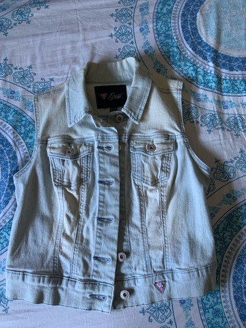 Colete Jeans Guess
