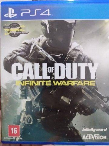 PS4 Playstation slin Sony 1 TB + 1 jogo Call of Duty - Foto 6