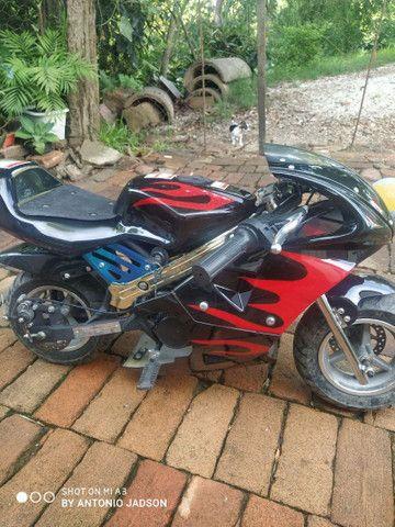 Mini moto a motor - Foto 2