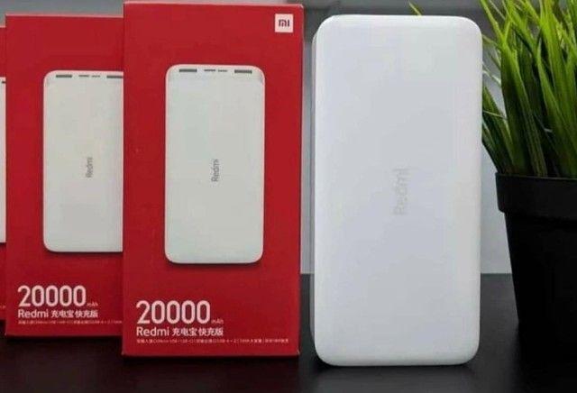 Carregador Portátil 20000mah Quick Charge 3.0 Turbo - Xiaomi