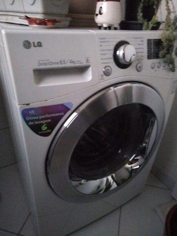 Máquina Lava e Seca LG Direct drive 8.5 4kg - Foto 4